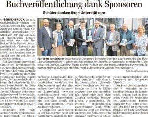 Bersenbrücker Kreisblatt 21.04.2016