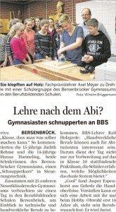 Bersenbrücker Kreisblatt 12.05.2016