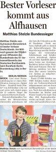 Bersenbrücker Kreisblatt 23.06.2016