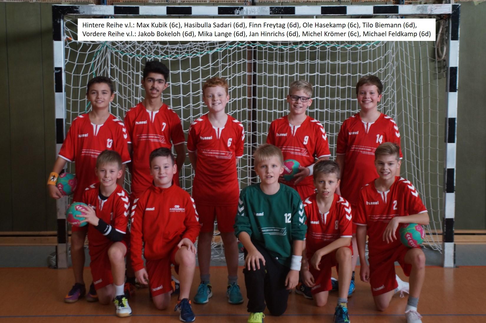 Handball WK IV Jungen 2019